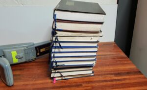 10 years worth of old Geelong Cable Locations diaries